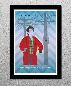 Twin Peaks  Been Places  Fire Walk With Me  by CultClassicPosters, $20.00