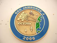 VHTF Event Coin Geo Jamboree 4 2006 Geocoin,ant. gold