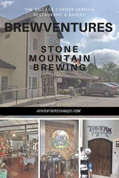 Stone Mountain, GA If you've been joining our adventures, you know we love visiting breweries. We also prefer to support eating and drinking local. On our recent trip to Stone Mountain Park in Georgia, we were thrilled to find a local brewery/German Restaurant less than 2 miles from the park! The Village Corner German Restaurant/Stone … … Continue reading →