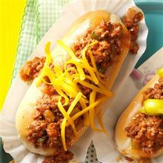 Super Sloppy Joes Recipe -Mother made these fresh-tasting sloppy joes many times when I was growing up. She passed the recipe on to me when I got married. My brother-in-law says they're the best sandwiches he's ever tasted. And he ought to know—his name is Joe!