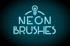 Neon Brushes by JRChild