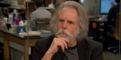"""""""I see him in my dreams all the time. I hear him when I'm on stage. I would say I can't talk to him, but I can. I don't miss him. He's here. He's with me."""" -- Bob Weir to The Huffington Post: 04/24/2014 11:56 am EDT Grateful Dead's Bob Weir Looks Back On Bandmate Jerry Garcia"""