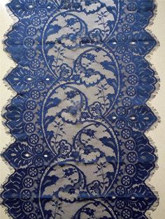 10ft navy lace runner 13  lace table runner by WeddingTableRunners