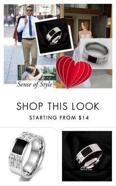"""""""JEWELRY SHOP SENSE OF STYLE"""" by lejla150 ❤ liked on Polyvore featuring men's fashion and menswear"""