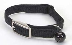 Coastal Pet Sassy Snag-Proof Nylon Cat Safety Collar (Black, 12 Inch L x 3/8 Inch W) ** Read more at the image link. (This is an affiliate link and I receive a commission for the sales)