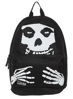 Misfits Fiend Skull Backpack | Hot Topic - Josh would LOVE THIS. ;D