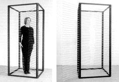 Rebecca Horn | Measure Box, 1970