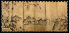 Sesson Shūkei | Gibbons in a Landscape | Japan | Muromachi period (1392–1573) | Circa 1570.