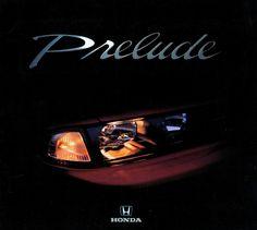 Honda Prelude Mk4 Netherlands Brochure 1993