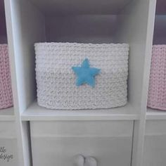 #koszzesznurka #pojemnik #kosznazabawki #dziecko #pokójpastelowy #kidsroom #girlrooms #boyrooms #decoration #handmade #lovelittledesign