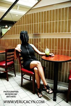 Personal Identity by Veruca Cyn Personal Identity, High Society, Hoodie Dress, Hoodies, Medium, Model, Collection, Black, Dresses