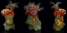 Sculpture – Polychromy – artist Addé – Pride of the Pende #contemporaryart Contemporary African Art, Contemporary Sculpture, Sculpture Art, Sculptures, Art Forms, Original Artwork, Pride, Art Gallery, Artist