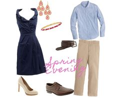 Spring Engagement Photo Outfit Ideas