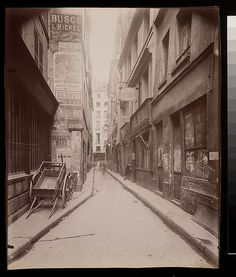 Digital Accession Number: 1981:0952:0052.0001 Maker: Eugène Atget (French, 1857-1927) Title: Rue des Etuves St. Martin (4e) Date: 1908 Medium: albumen print Dimensions: 21.8 x 18.0 cm. (trimmed) George Eastman House Collection General – information about the George Eastman House Photography Collection is available at www.eastmanhouse.org/inc/collections/photography.php. For information on obtaining reproductions go to: www.eastmanhouse.org/flickr/index.php?pid=198109520052.