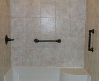 Rochester Bathroom Remodeling, Rochester, NY|Tub To Shower Conversion |  Picture Gallery