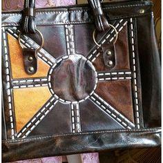 60's Sunny Faux Leather Boho Bag Charmstruck @charmstruckvintage on Instagram