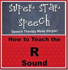 How to Teach the /r/ Sound Good minimal pairs list