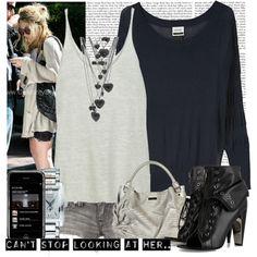Black & Grey Olsen style