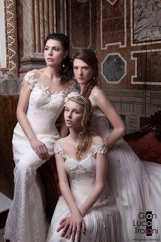 for Gian Luca Troiani Wedding Dresses, Fashion, Bride Dresses, Moda, Bridal Wedding Dresses, Fashion Styles, Weeding Dresses, Weding Dresses, Wedding Dressses