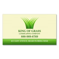 Lawn Care Grass Logo Business card. I love this design! It is available for customization or ready to buy as is. All you need is to add your business info to this template then place the order. It will ship within 24 hours. Just click the image to make your own!