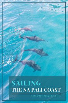 Sailing the Na Pali Coast with kids!
