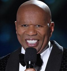 Steve Harvey without his eyebrows