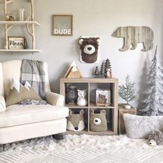 baby boy nursery room ideas 676947387726361946 - Plush Bear head / faux Taxidermy / woodland decor / boy room / plush bear, Source by