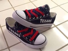 Hey, I found this really awesome Etsy listing at https://www.etsy.com/listing/211968444/houston-texans-womens-tennis-shoes