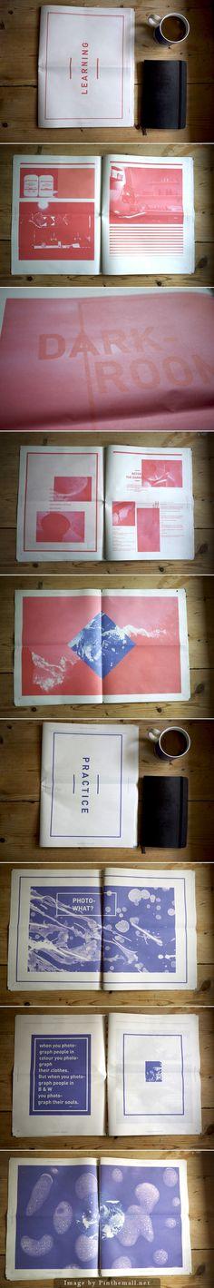 newspaper darkroom / mari karlsnes