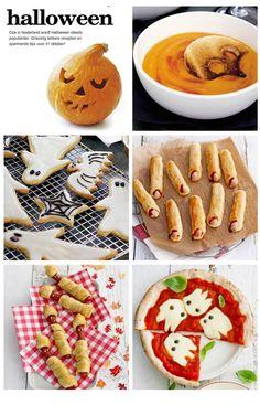 kinderrecepten voor halloween