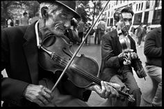 The Gypsy violinists of Budapest.  ©David Turnley, all rights reserved.
