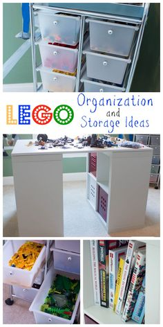 lego storage organization, entertainment rec rooms, organizing, storage ideas, Lots of great Lego organization and storage ideas Lego Table Ikea, Lego Table With Storage, Lego Storage, Kids Room Organization, Storage Organization, Storage Ideas, Organizing Tips, Organising, Ikea Boys Bedroom