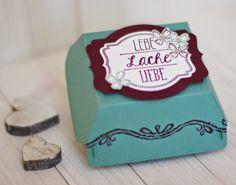 { Conibaers creative desk }: Live, laugh, love! - small hamburger gift box #stampinup