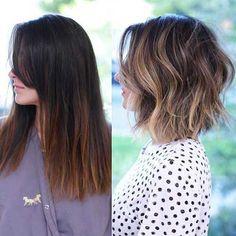 Wavy Short Haircut