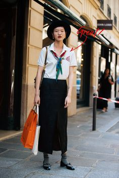 See what the models are wearing off-duty during Couture Week in Paris! – Of The Minute Street Style 2018, Model Street Style, Street Style Women, Spring Fashion Trends, Pop Fashion, Latest Fashion, Fashion Tips, Simple Style, Cool Style