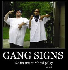 Not to be confused with cerebral palsy…this is as funny as it is disturbing