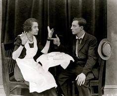 maudelynn: Buster Keaton in Hard Luck c.1921 viahttp://coleccioncinefila.blogspot.com