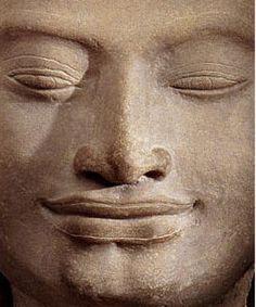Bouddha, sourire