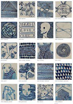 Ruan Hoffmann's Entrapercevoir series, much love me & Cle Tile