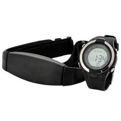 Wireless Heart Rate Monitor Calories Watch Chest Strap Fitness Belt Sports Outdoor Running Exercise Wristwatches Sale