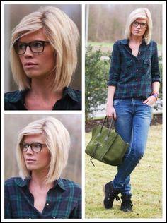 The perfect angled bob haircut- Mirror of Fashion Blog by kasey