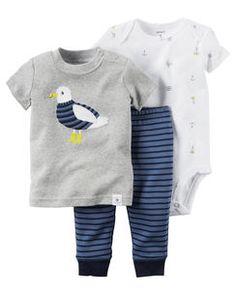 Carter's 3-Piece Bodysuit & Pant Set