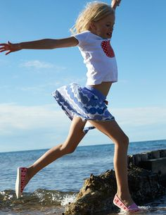 4e83cba5179 I ve spotted this  BodenClothing Jersey Skort Kids Laughing