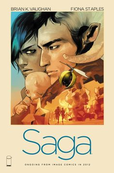 Saga is an epic space opera/fantasy comic book series created by writer Brian K. Vaughan and artist Fiona Staples, published monthly by Image Comics. Comics Illustration, Illustrations, Bd Comics, Image Comics, Comic Books Art, Book Art, Saga Comic, Fantasy Comics, Ex Machina