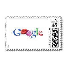 Google Doodles Parent's Day 2012 postage stamp