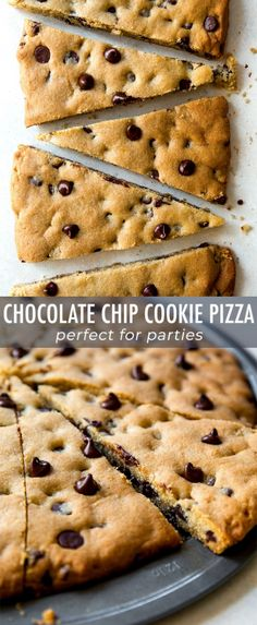 That easy recipe for classic chocolate chip cookie pizza! Makes a giant cookie p… That easy recipe for classic chocolate chip cookie pizza! Makes a giant cookie pizza perfect for sharing. Recipe on sallysbakingaddic… Chocolate Chip Cookie Pizza, Chocolate Chip Recipes, Homemade Chocolate, Chocolate Pizza, Chocolate Chocolate, Giant Cookie Recipes, Giant Cookie Cake, Giant Cookies, Candy