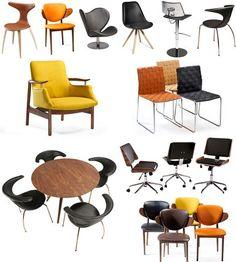 Des exemples de mobilier pouvant servir comme chaises et tabourets de bar Eames, Lounge, Comme, Furniture, Home Decor, Luxury Hotels, Bar Stool, Stools, Chairs