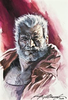 Old Man Logan by Felipe Massafera, in J M T's Felipe Massafera Comic Art Gallery Room Old Man Wolverine, Wolverine Cosplay, Comic Book Artists, Comic Artist, Comic Books, Old Man Logan, Marvel Comics Art, Man Character, Character Portraits