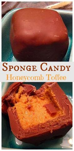 Honeycomb Toffee - Candy - Ideas of Candy - Sponge Candy: Honeycomb Toffee Candy is also known by various names around the world such as Sponge Candy Hokey pokey puff candy cinder toffee sponge toffee or candy molasses puffs fairy candy and sea foam. Sea Foam Candy, Candy Recipes, Dessert Recipes, Honeycomb Candy, Old Fashioned Candy, Old Fashioned Christmas Candy, Toffee Candy, Homemade Candies, Christmas Baking