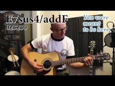 From the beginning - ELP - Cover, Acoustic guitar tutorial with chords - YouTube